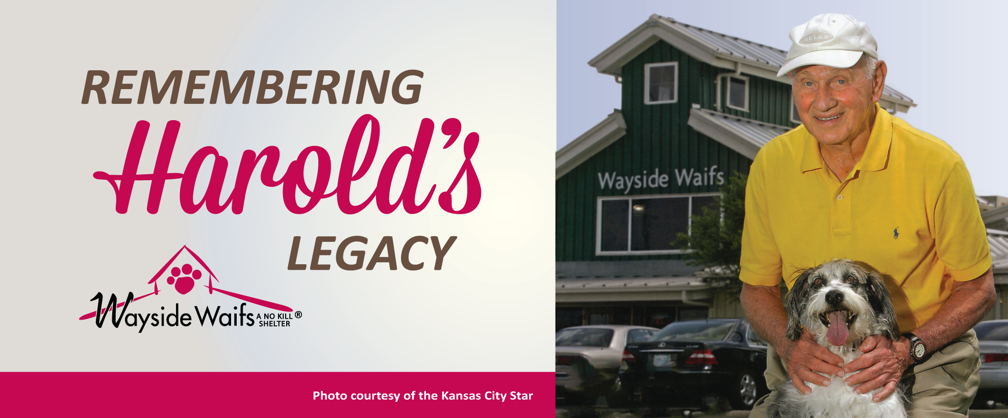 Read about Harold's Wayside Legacy