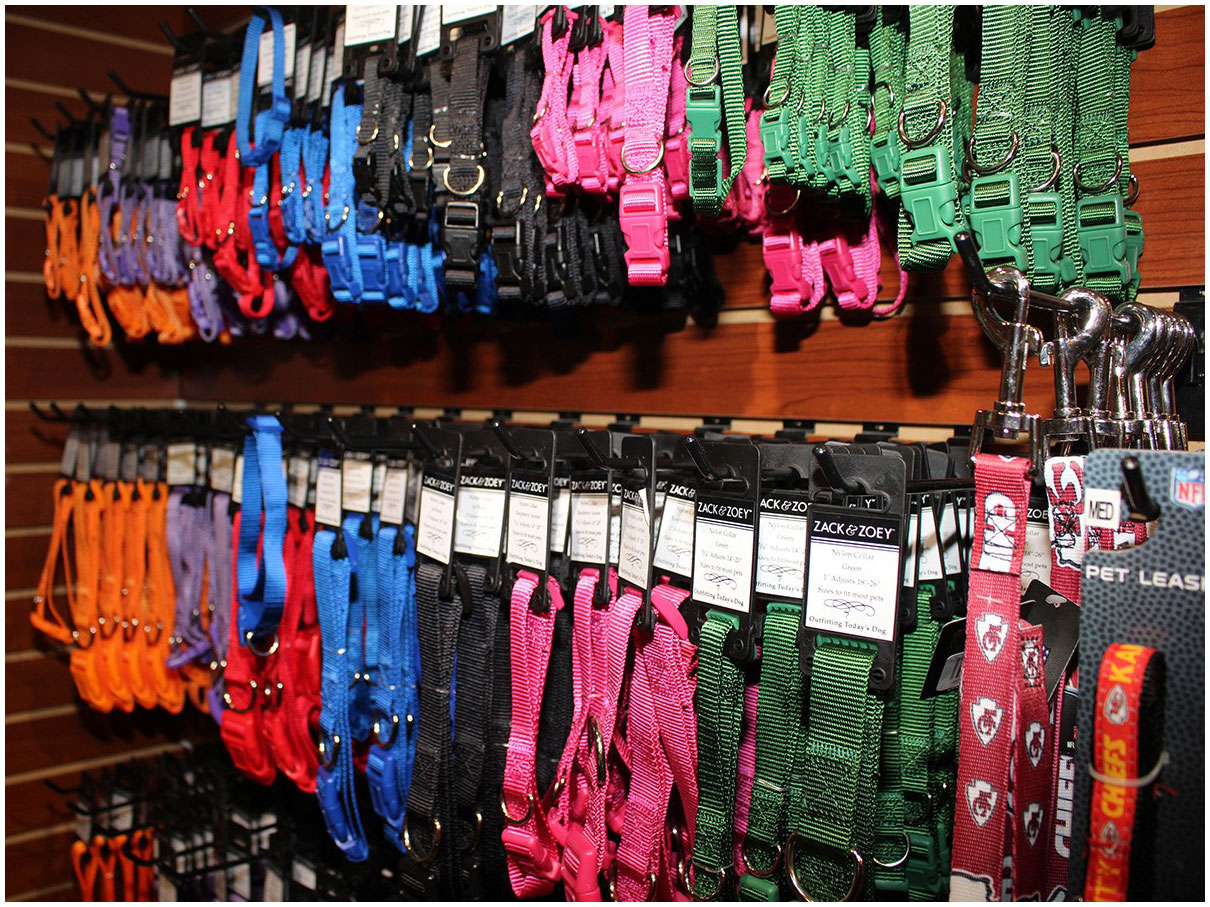 A large selection of traditional and stylish collars